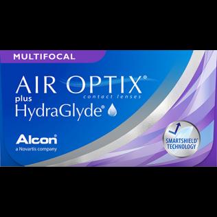 AIR OPTIX PLUS HYDRAGLYDE multifocal 6 lenzen